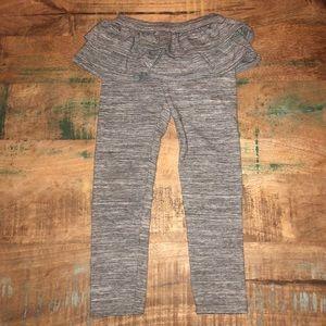 GapKids | Ruffle Leggings, Girl's Size 5